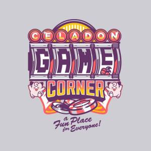 Celadon Game Corner at theyetee.com