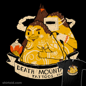 Death Mountain Tattoos at theyetee.com