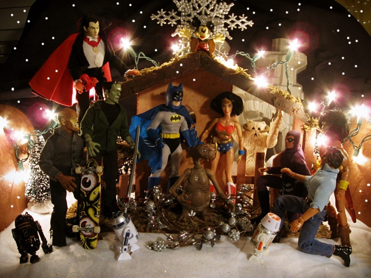 25  nerdy nativities u2026because superheroes  etc   do christmas too   u2013 nerdy minds magazine