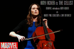 AMY ACKER AS THE CELLIST IN MARVEL'S AGENTS OF SHIELD