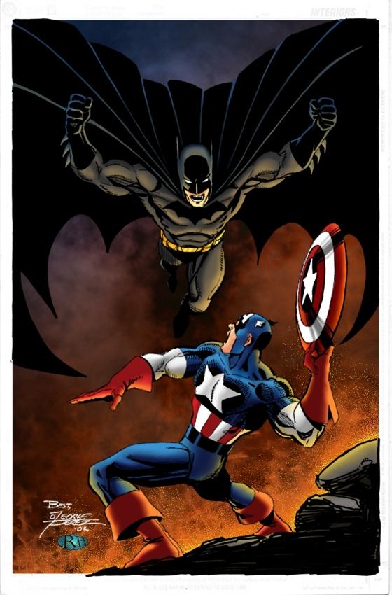 Cap Vs Batman