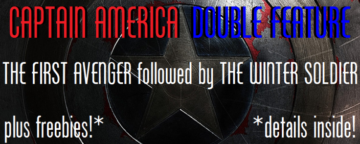 captain america double feature the winter soldier the first avenger