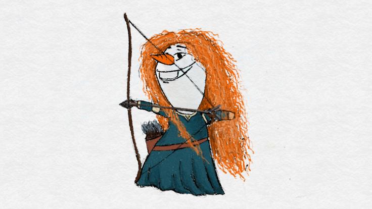 Olaf Princess 06