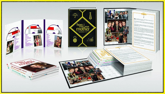 HOW I MET YOUR MOTHER complete series box set contents