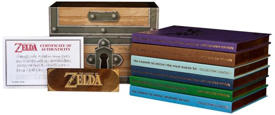 legendofzeldaprimaofficialgameguideboxset