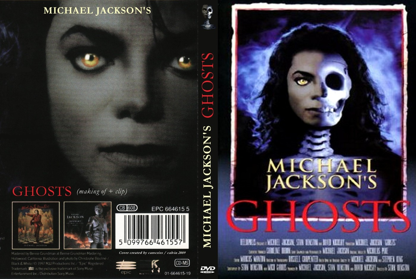 This Halloween…Skip THRILLER & Check Out Michael Jackson's GHOSTS