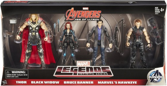MARVEL Legends Infinite Series AVENGERS AGE OF ULTRON Thor BlackWidow BruceBanner Hawkeye