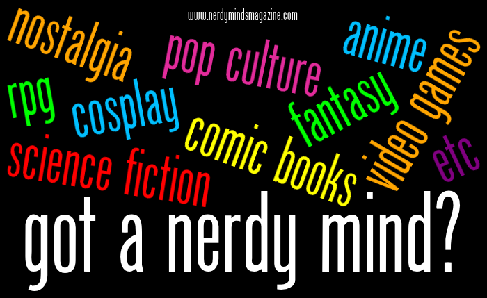 got a nerdy mind geek categories etc