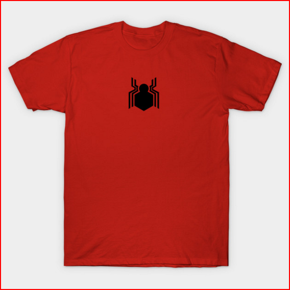 spider-man homecoming logo t-shirt