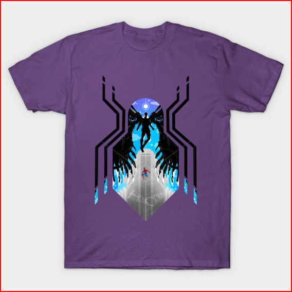 spider-man homecoming vulture spider logo t-shirt.PNG