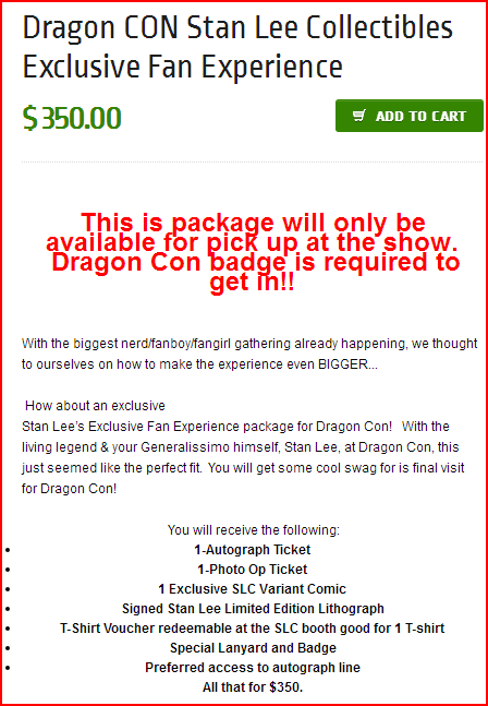 dragon con stan lee exclusive fan experience info