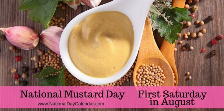 National-Mustard-Day-First-Saturday-in-August