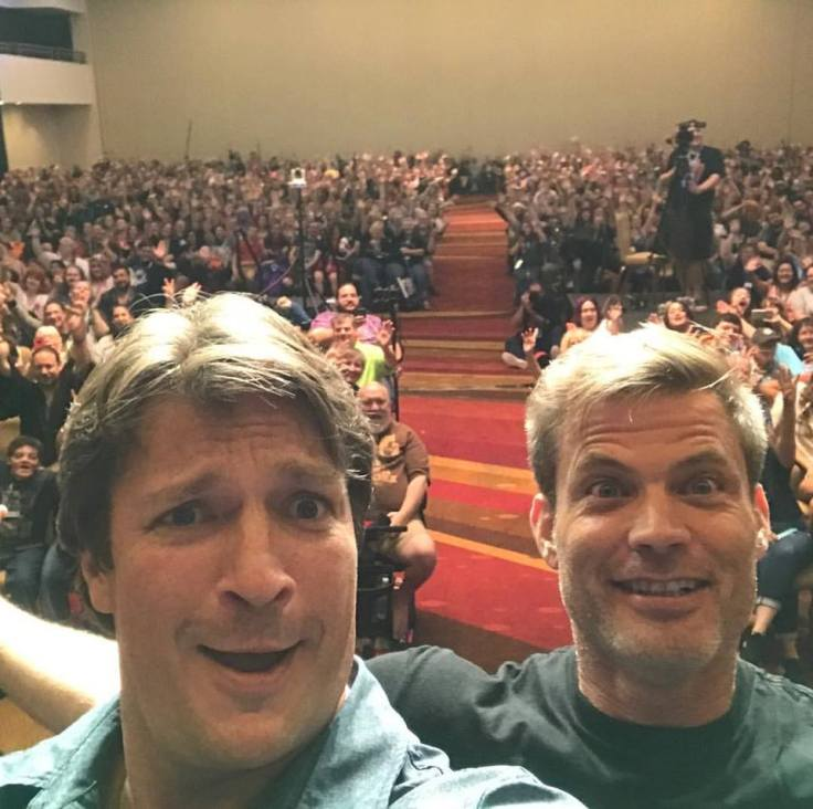 dragon con nathan fillion con man panel pic by nathan fillion